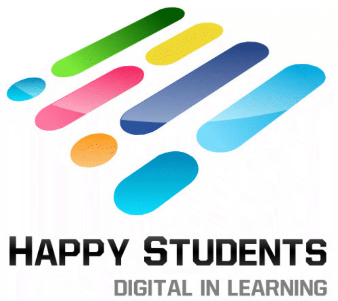 Happy Students - Digital Learning